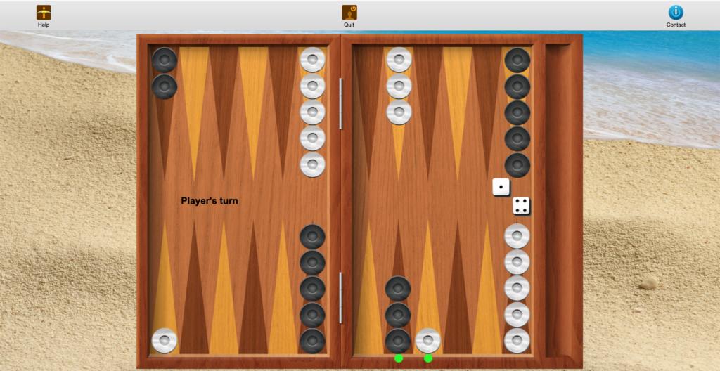 iTavli: Move checkers